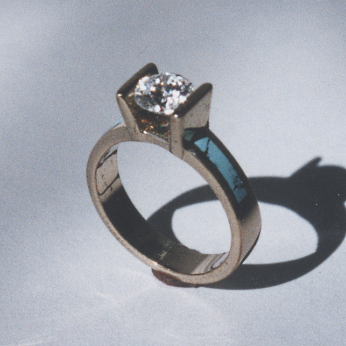 Turquoise Engagement Ring #G0044