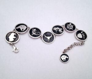 Sterling Silver Link Bracelet #G0070