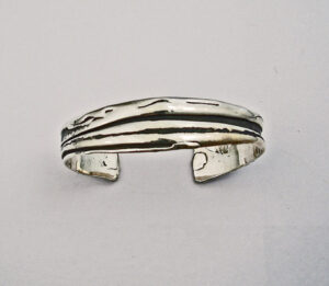 Ladies Sterling Silver cuff Bracelet #G0082