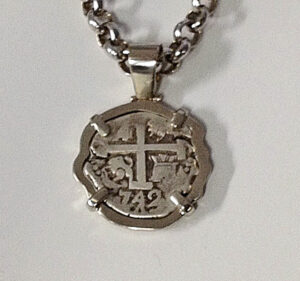 Pendant Setting for Spanish Doubloon Coin #G0091