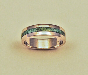Turquoise Wedding Band #G0092