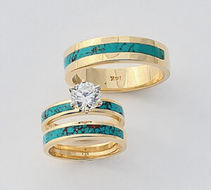 Turquoise Wedding Set #G0107