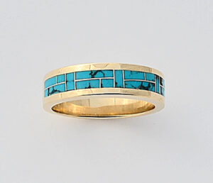 Turquoise Wedding Ring Turquoise Wedding Ring #G0109
