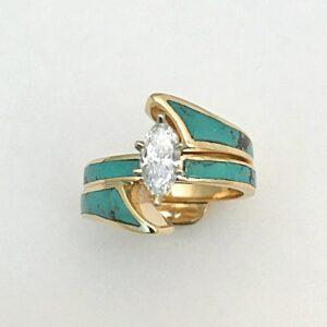 14-Karat-Gold-Wedding-Set-by-Southwest-Originals-505-363-7150