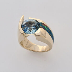 Diana custom Aqua ring