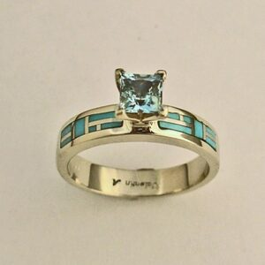 Gold-Engagement-Ring-with-Aquamarine-and-Turquoise-Inlay-02-by-Southwest-Originals-505-363-7150