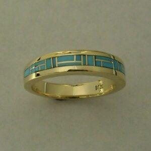 Gold-Turquoise-Wedding-Band-by-Southwest-Originals-505-363-7150-1-300x300
