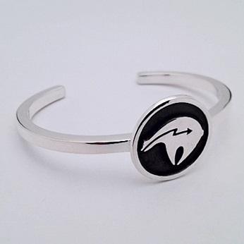 Sterling Silver Bear Cuff Bracelet by Southwest Originals 505-363-7150