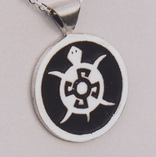 Sterling Silver Turtle Pendant by Southwest Originals 505-363-7150