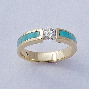 Turquoise-and-Diamond-Engagement-Ring-by-Southwest-Originals-505-363-7150