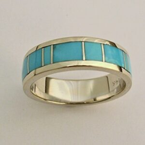 Turquoise-wedding-band-by-Southwest-Originals-505-363-7150