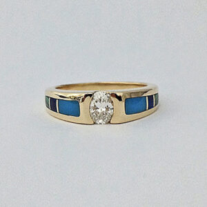 Oval dia ring 3