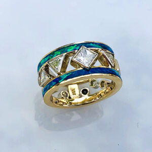 Custom Gold and Diamond Jewelry—A Sparkling Duo for Women AND Men