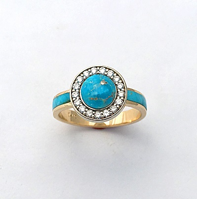14-yellow-and-white-gold-two-tone-ring-with-Turquoise-and-Diamonds-1