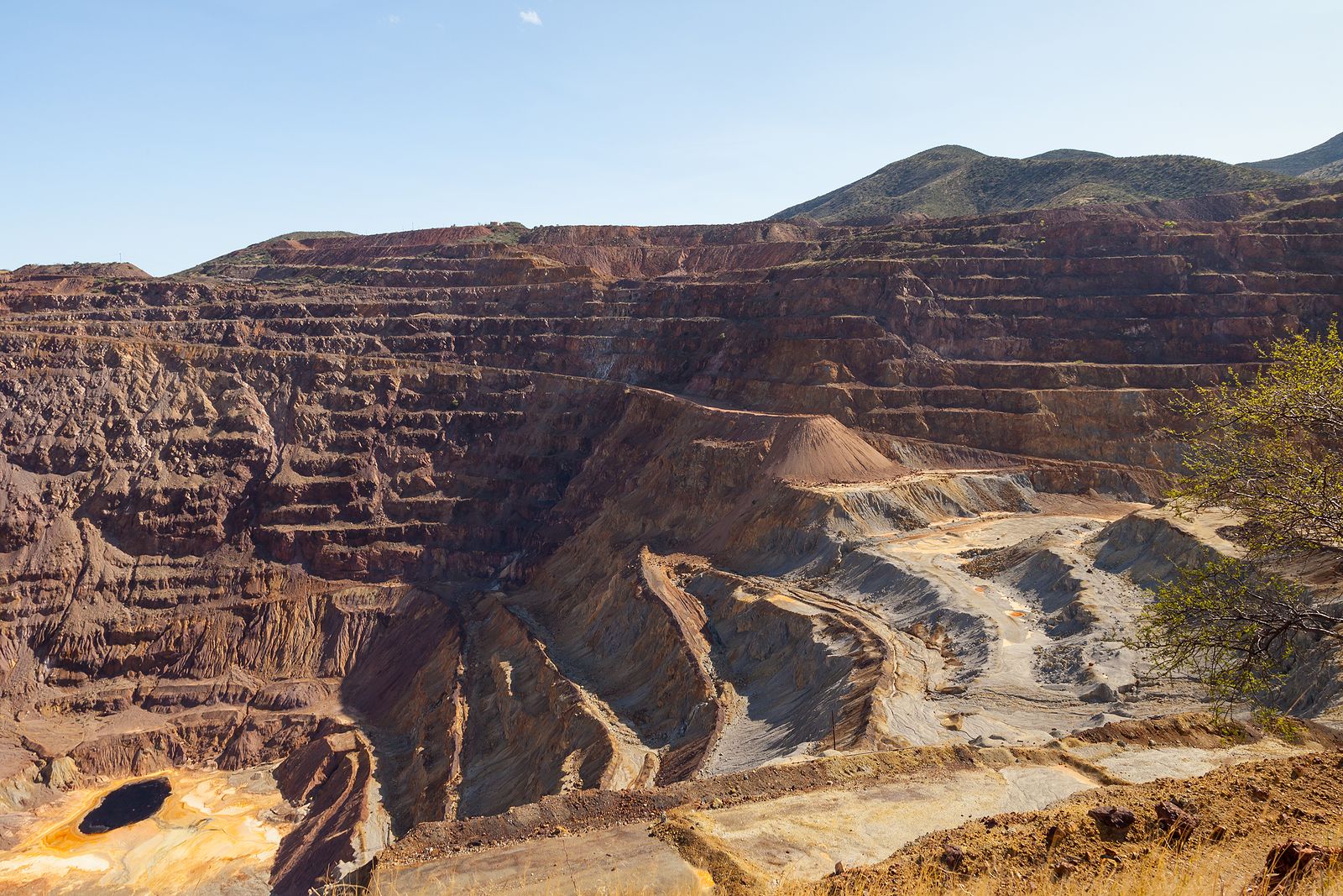 Bisbee Turquoise Mine Cool History and Facts by Southwest Originals 505-363-7150 a