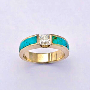 The Remarkable Saga of Engagement Rings by Southwest Originals 505-363-7150